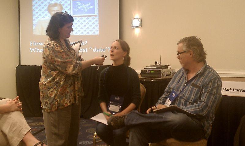 Beth Kanter, Kat Johnson, and Mark Horvath (#11NTCfa)