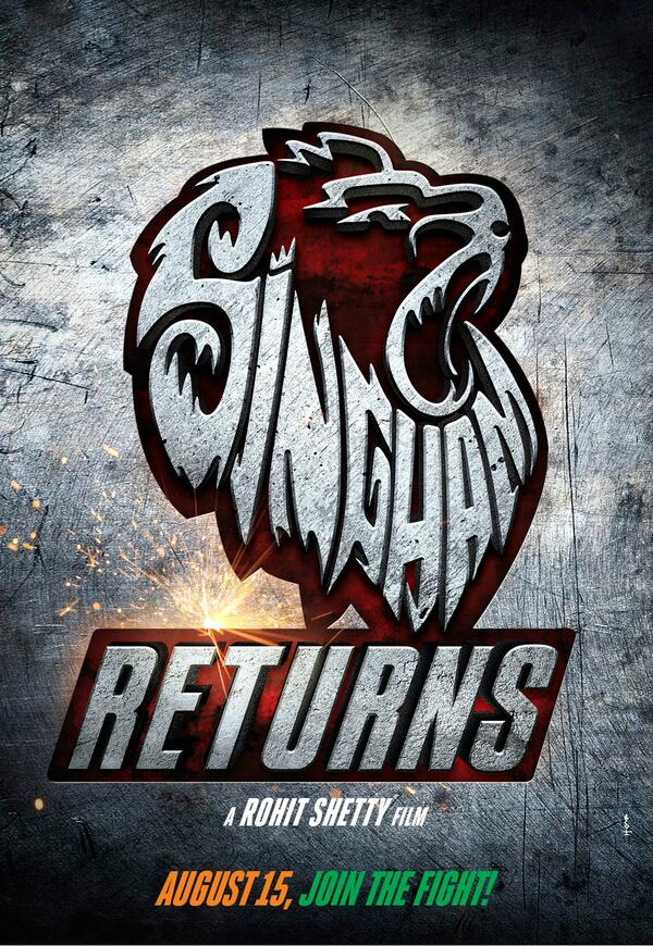 Singham returns first look posters and trailer falling in love singham returns firs look poster 01 thecheapjerseys Image collections