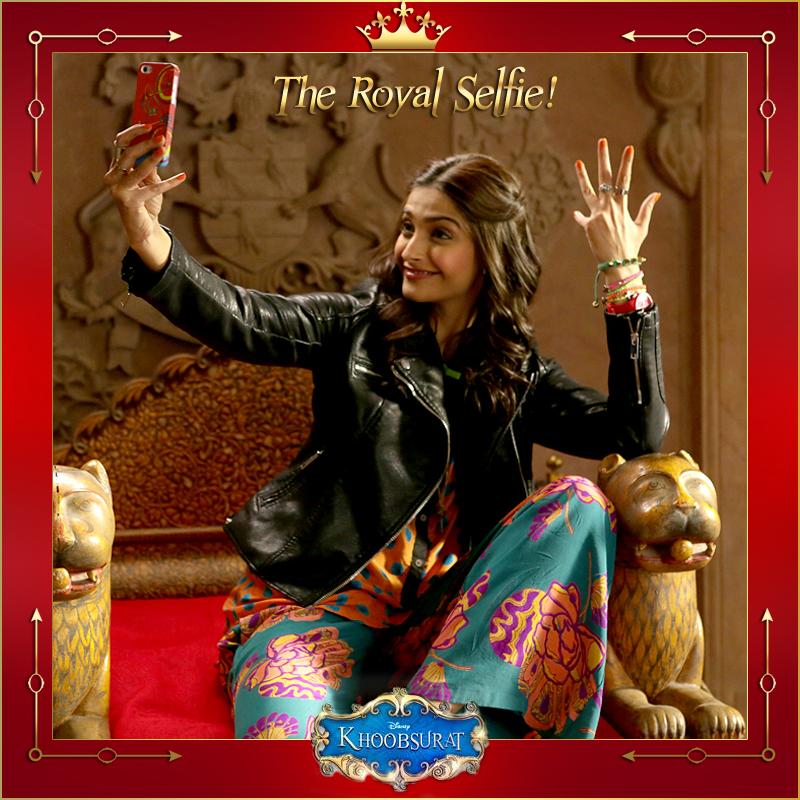 Disney-Kapoor-Khoobsurat-Royal-Selfie