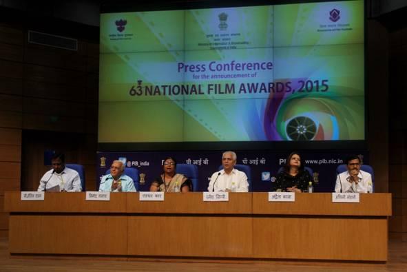 63rdNationalFilmAwards-2015