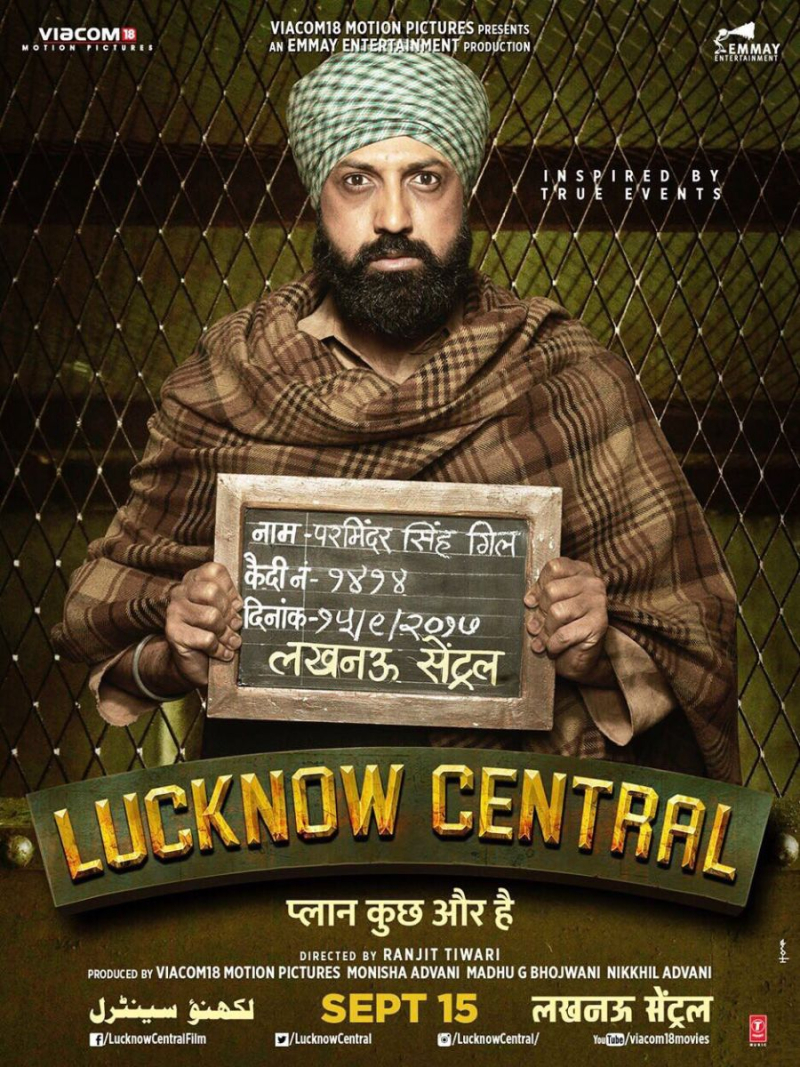 LucknowCentral_Poster_GippyGrewal