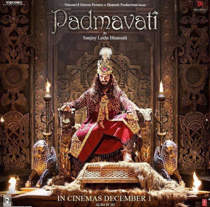 Padmaavat_Padmavati_Square_RanveerSingh_SultanAlauddinKhilji_01