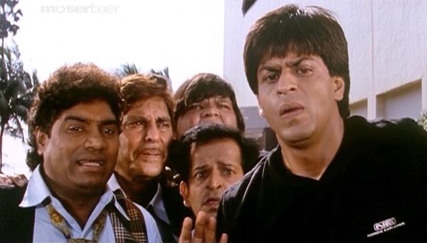 Baadshah-ShahRukhKhan-JohnnyLever-26