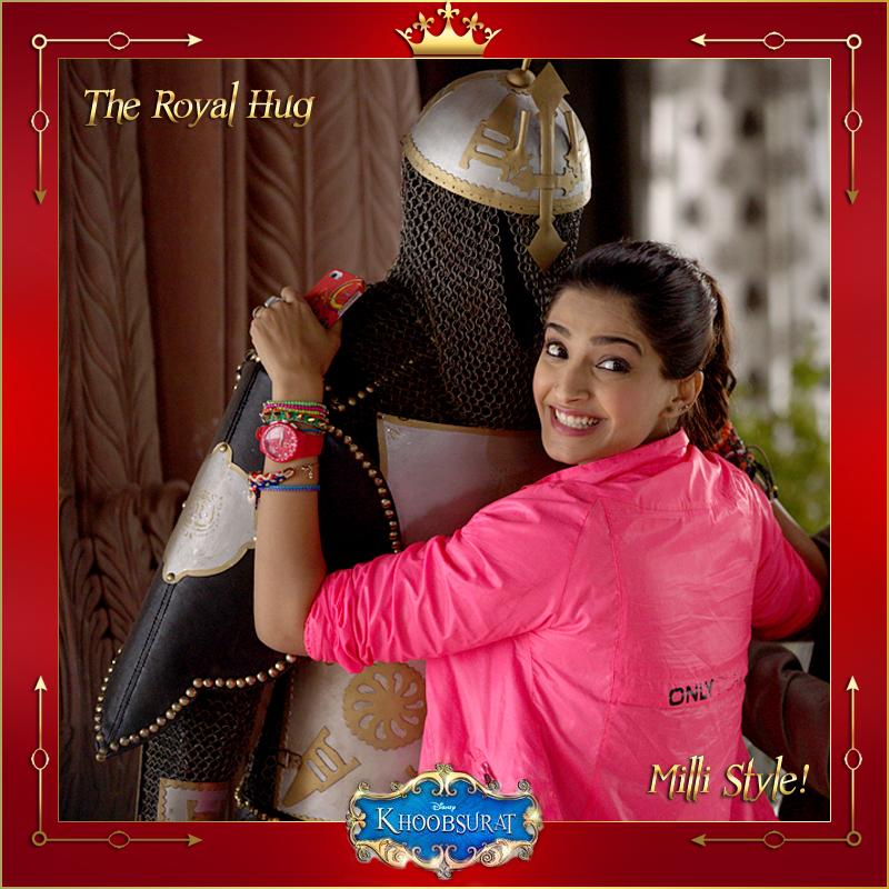 Disney-Kapoor-Khoobsurat-Royal-Hug