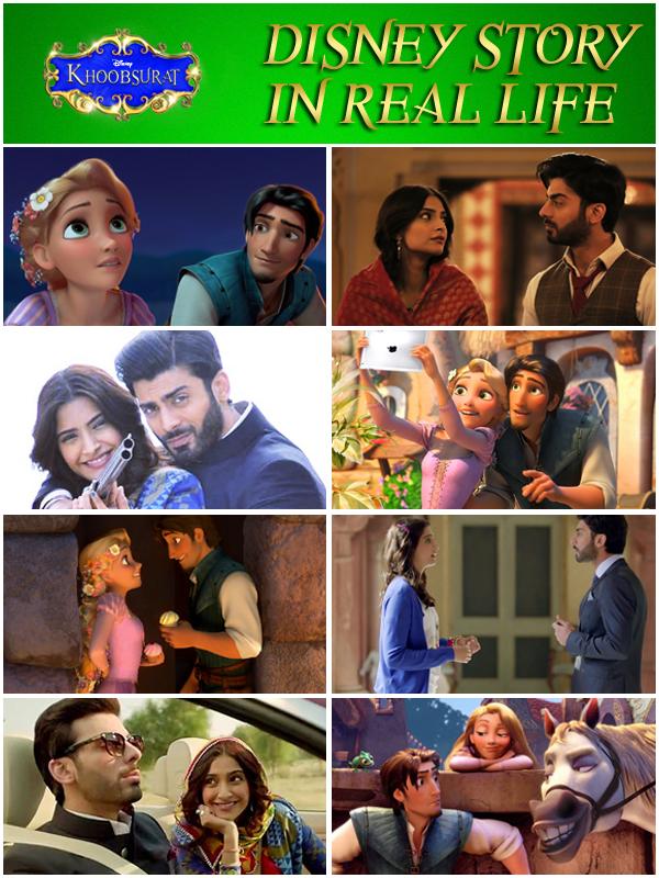 Disney-Story-Real-Life-Khoobsurat-Poster