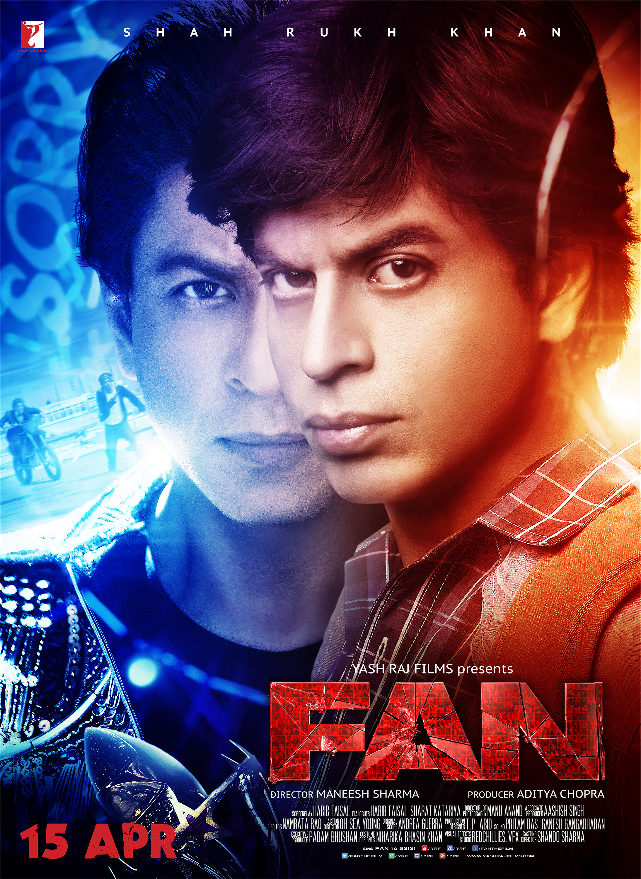 A Poignant Thriller About Fame And Fan Fanthefilm Falling In Love With Bollywood