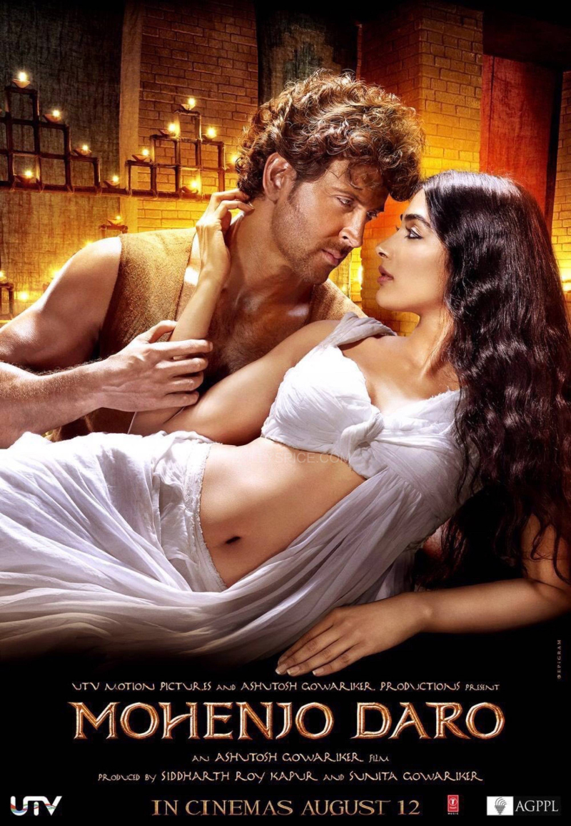 MohenjoDaro-Poster-HrithikRoshan-PoojaHedge