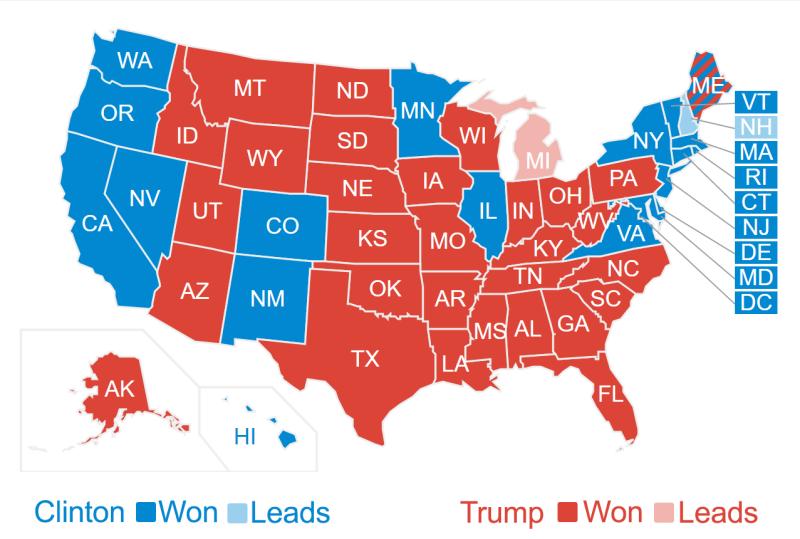 Clinton-Trump-ElectoralVotes