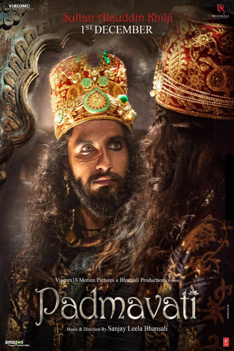 Padmaavat_Padmavati_RanveerSingh_SultanAlauddinKhilji_02