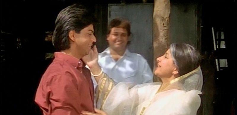 Deewana-ShahRukhKhan-SushmaSeth-02
