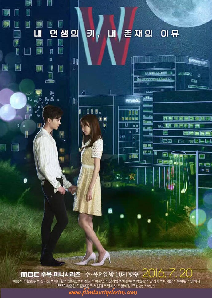 W_TwoWorlds_Poster_KangCheol_YeonJoo_Park