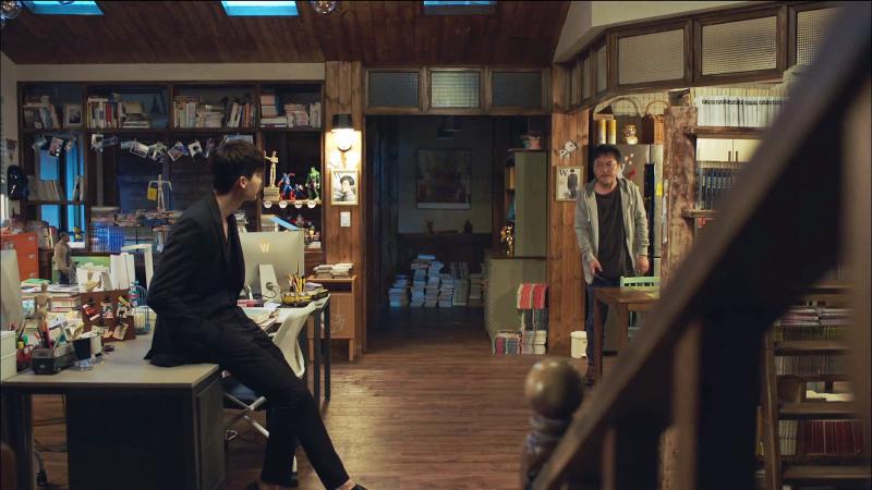 W_TwoWorlds_LeeJongSuk_HanHyoJoo_MeetingTheCreator